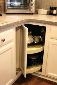 Kitchen Corner Cabinet Storage Lower Corner Kitchen Cabinet Musicalpassion Club