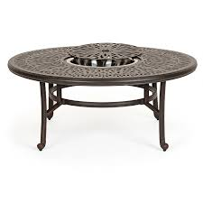 small round outdoor side table iron patio coffee table round rattan coffee table red outdoor side