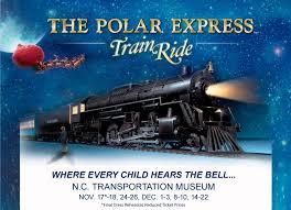 nc transportation museum the polar express ride 2017