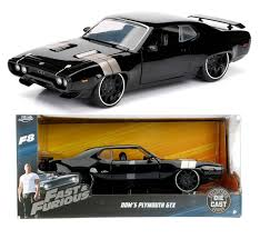 jada fast u0026 furious 8 dom s plymouth gtx vehicle diecast model 1