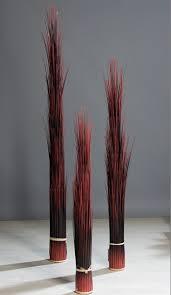 Esszimmerst Le Rieger Gras Bündel Rot Braun 120 Cm Kunstgras Von Dpi Ebay