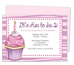 baby u0027s 1st birthday cupcake 1st birthday invitation templates