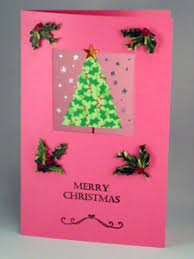 create a christmas card a glittering merry christmas card with 3 d effects that is easy to