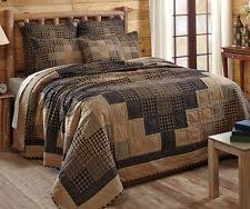 california king quilts and coverlets log cabin rustic primitive quilts bedspreads coverlets ebay