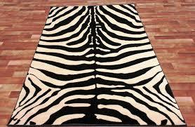 Cheap Animal Skin Rugs Flooring Black And White Zebra Print Rugs Animal Print Area