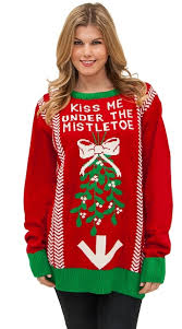 christmas sweater plus size the mistletoe sweater christmas sweater