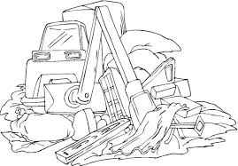 excavator coloring pages coloring pages kids