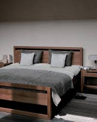 Teak Bed Teak Light Frame Bed Double Beds From Ethnicraft Architonic
