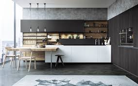 design creative white hexagonal style sleek wall cabinet and