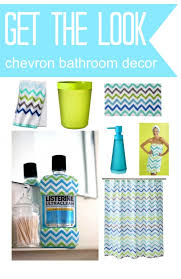 chevron bathroom ideas chevron bathroom decor made easy with exclusive listerine bottles