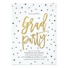 graduation party invitations confetti grad party graduation invitation ladyprints