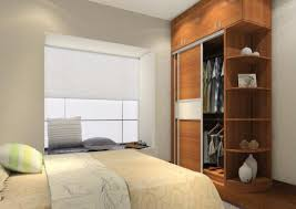 Bedroom Wardrobe Design by Wardrobe Design With Dressing Table Slanted Ceiling Floating Desk