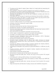 Material Handler Sample Resume by Qa Qc Engineer Resume Sample Contegri Com