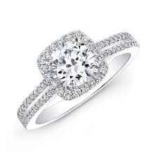 engagement rings 2000 18k white gold split shank halo diamond engagement ring nk27527