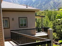 metal deck railing panel best metal deck railing ideas u2013 three