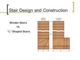 L Shaped Stairs Design Stair Design And Construction 3 09 Ppt Video Online Download