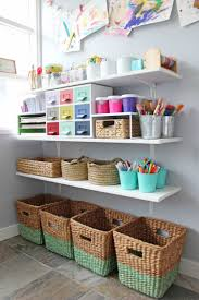 great ideas for organizing your kids u0027 art area and incorporating