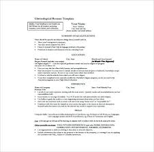 Resume Template Word 2007 Sample Resume Format Download In Ms Word Travel Resume Examples
