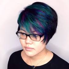 ways to dye short hair oil slick hair is the new way to dye your hair rainbow mtv