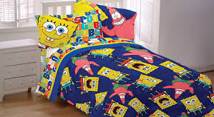 Spongebob Bedding Sets Spongebob Sheet Set Blue Bedding