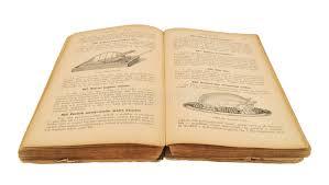 vieux livre de cuisine ouvrez le vieux livre de cuisine image stock image du vieux