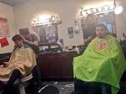 joe jonas stops by the proper barbershop for a fresh haircut