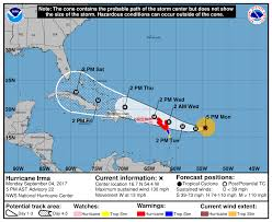 florida declares state of emergency as category 4 hurricane irma