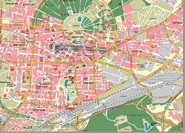 Kassel Germany Map by Large Karlsruhe Maps For Free Download And Print High Resolution