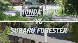 compare honda crv to subaru forester honda cr v vs subaru forester autonation