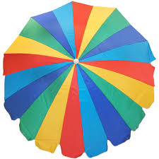 outdoor and patio best outdoor umbrella top view with colorful
