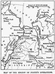 cumberland river map mississippi ohio tennessee and cumberland rivers in 1862