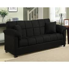 Black Leather Sleeper Sofa by Handy Living Convert A Couch Sleeper Sofa Ansugallery Com