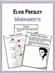 albert einstein biography ks2 elvis presley facts biography information worksheets for kids