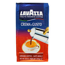 espresso ground coffee lavazza café espresso ground coffee 8 oz 226 g