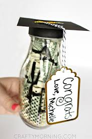 graduation diploma graduation glass bottle gift diploma money crafty morning