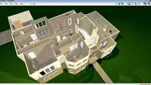 wonderful 3d 2 story floor plans plan of a single family 1 home