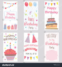 My Birthday Invitation Card Happy Birthday Invitation Cardbirthday Greeting Cardwelcome Stock