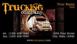 trucking company business card black yellow business cards flickr