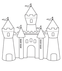 Contemporary Decoration Castle Coloring Page Book Coloring Pages Coloring Pages Castles