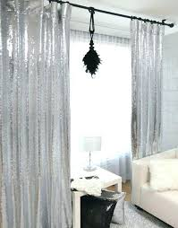 Grey And Silver Curtains Silver Metallic Curtains Metallic Curtain Panels Grey Velvet