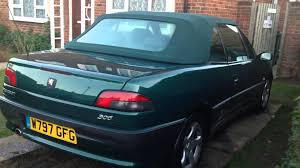 used peugeot 306 for sale my peugeot 306 cabriolet pininfarina convertible