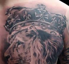 collection of 25 with crown on chest for
