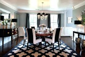 74 most blue ribbon fancy dining room area rugs classy design