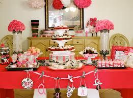 tini posh sophia u0027s baby shower pink black and white theme