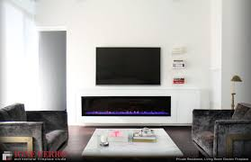 ql residence living room electric fireplace igne ferro