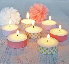 washi tape tea light candles popsugar smart living