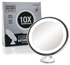 best lighted magnifying makeup mirror best lighted bathroom vanity mirrors