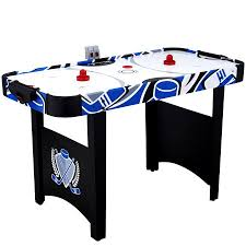 air powered hockey table md sports 48 inch air powered hockey table walmart com