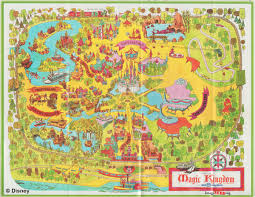 Walt Disney World Transportation Map by Magic Kingdom Maps Galore Imaginerding