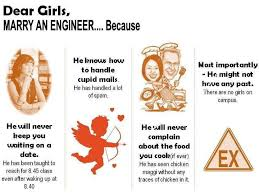 Electrical Engineering Meme - engineering pics dear girl marry an engineer because